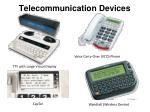 telecommunication devices