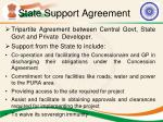 state support agreement