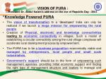vision of pura president dr abdul kalam s address on the eve of republic day 2003