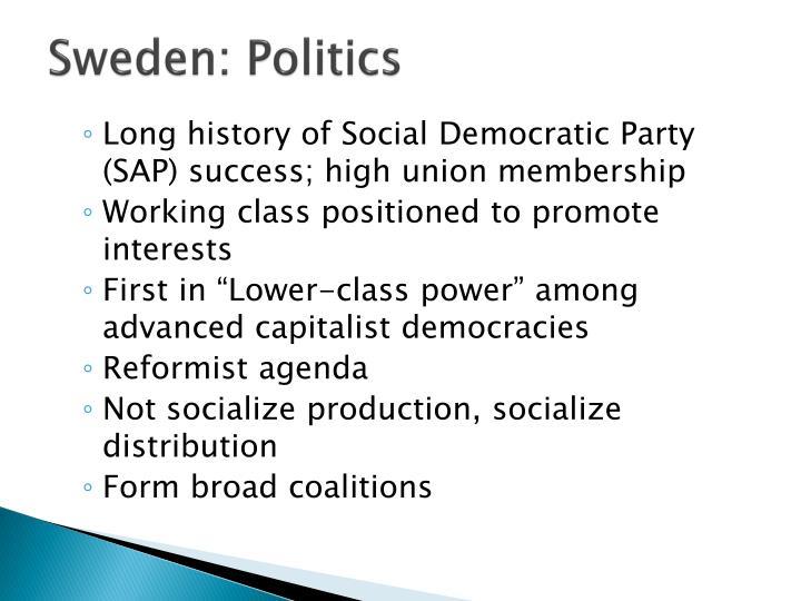 Sweden: Politics