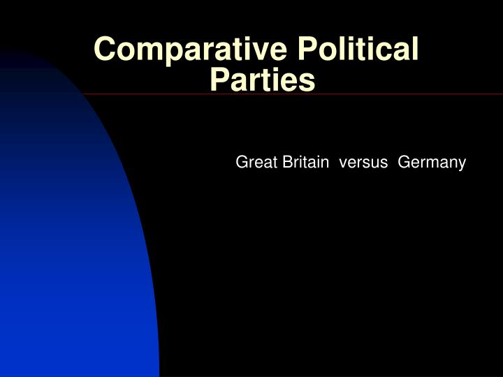 comparative political parties n.