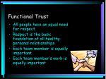 functional trust
