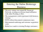 entering the online brokerage business2