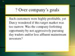 over company s goals
