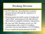 pershing division