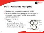 diesel particulate filter dpf3