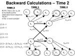backward calculations time 2