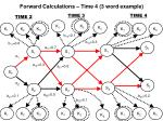 forward calculations time 4 3 word example1