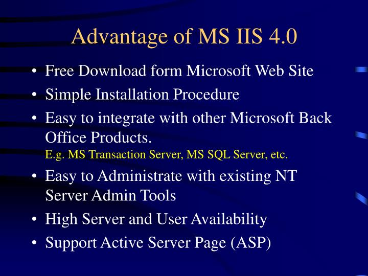 Microsoft internet information server 4. 0: exam 70-087 (mcse.