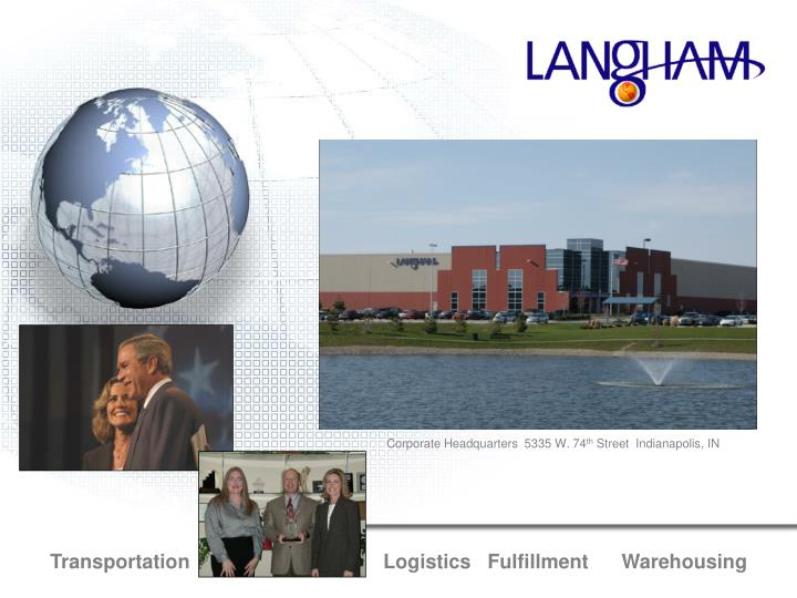 transportation logistics fulfillment warehousing n.