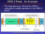 aws 3 rules an example