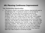 8 planning continuous improvement3
