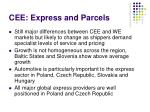 cee express and parcels