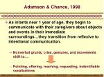 adamson chance 1998