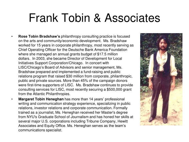 Frank Tobin & Associates