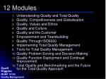 12 modules