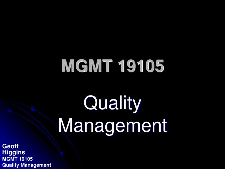mgmt 19105 n.