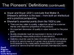 the pioneers definitions continued3