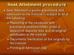seat allotment procedure2