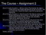 the course assignment 24