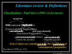 literature review definitions10