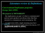 literature review definitions7