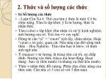 2 th c v s l ng c c th c3