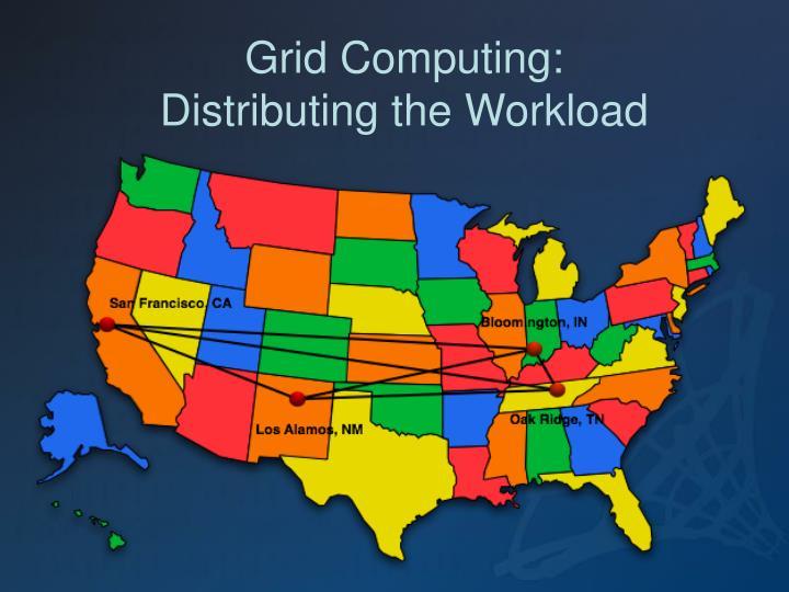 Grid Computing: Distributing the Workload