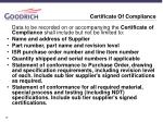 certificate of compliance1