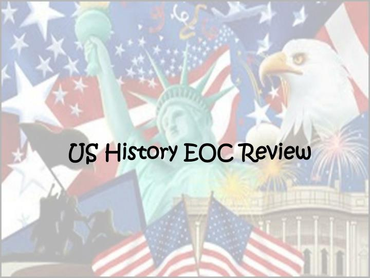us history eoc review n.