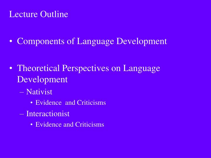 language a core and critical component in It accompanied common core's final version of its english language arts standards and other materials expressly developed to support the board's adoption of common core's standards the ten guiding principles come from the 2001 massachusetts english language arts.
