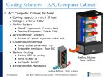 cooling solutions a c computer cabinet1