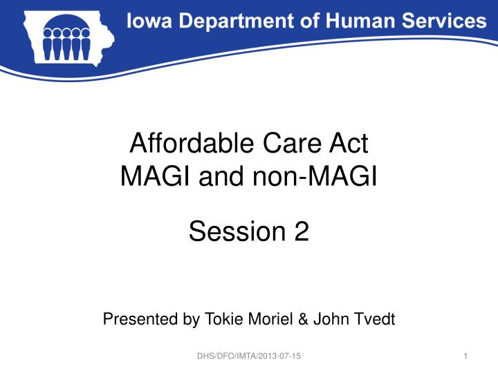 affordable care act magi and non magi n.