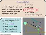 force and work1
