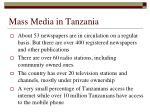 mass media in tanzania1