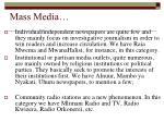 mass media1
