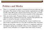 politics and media