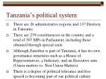 tanzania s political system1