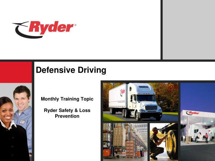 defensive driving n.