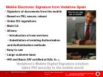 mobile electronic signature from vodafone spain