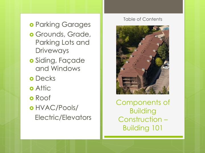 Components of building construction building 1011