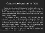 gantries advertising in india1