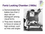 fantz looking chamber 1960s