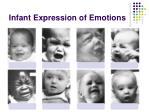 infant expression of emotions