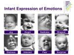 infant expression of emotions1