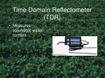 time domain reflectometer tdr