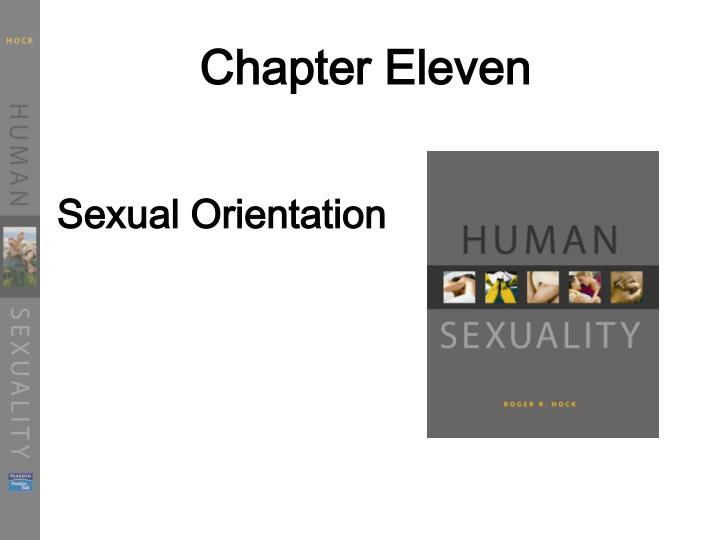 human sexuality chapter 9 Human sexuality, third edition, helps students develop and design their own sexual philosophy every chapter begins with actual student questions from the author's files during nearly 20 years of teaching the human sexuality course.