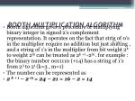 booth multiplication algorithm