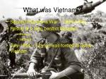 what was vietnam