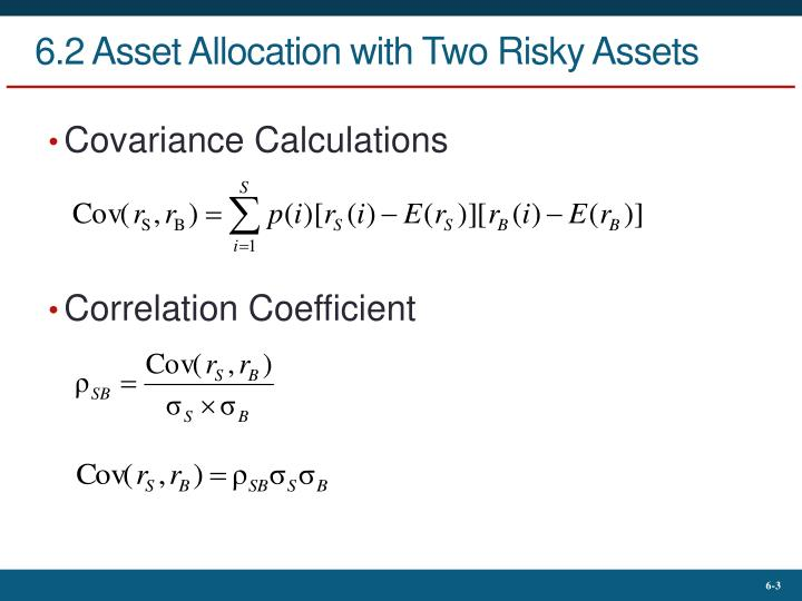 6 2 asset allocation with two risky assets1